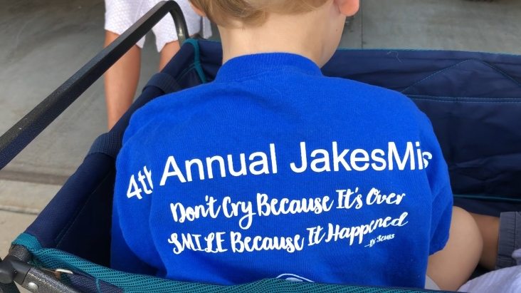 #JakesMiles - celebrating healthy hearts and lungs!