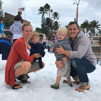 Family fun in the snow!