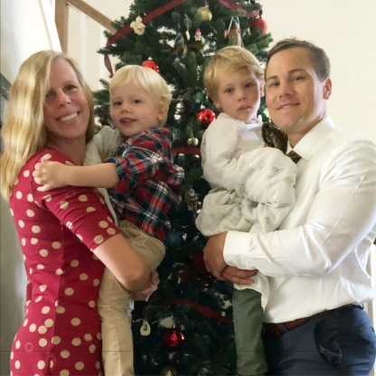 Christmas Eve - off to church!